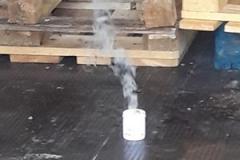 Test di campo di un fumogeno contro blatte