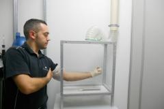 repellente cutaneo su zanzare con gabbia cubica