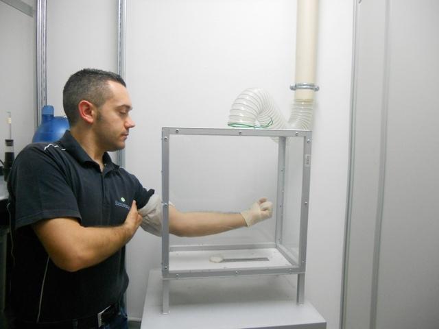repellente cutaneo su zanzare in gabbia BGmod